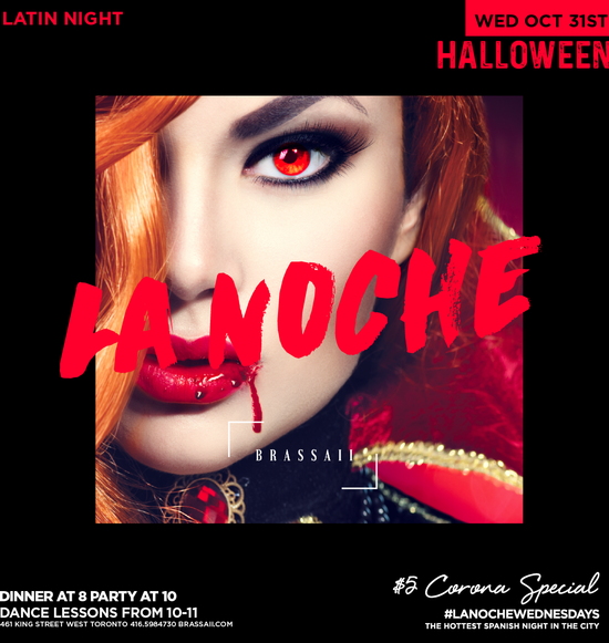 La Noche Halloween - Latin Night