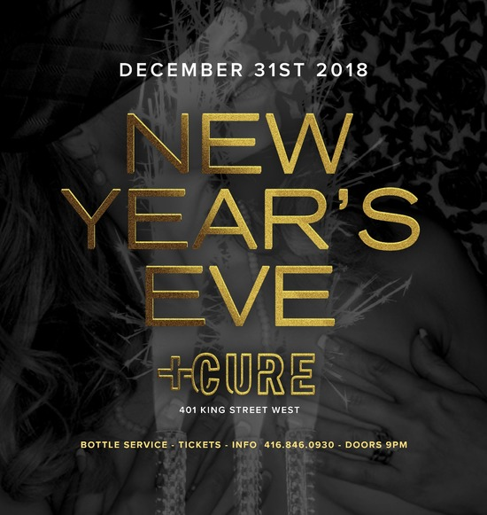 Toronto New Year's Eve 2020! Over 100 Events Listed