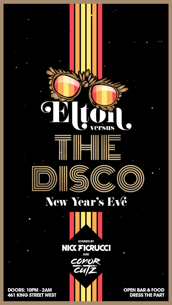 Elton Versus The Disco NYE 2019