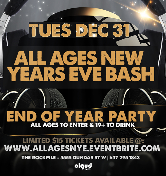 All Ages New Years Eve