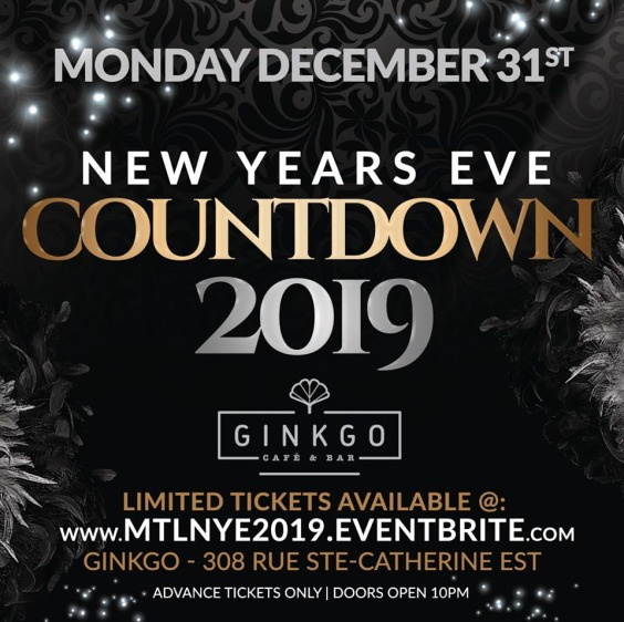 Montreal New Years Eve Party | Countdown to 2019