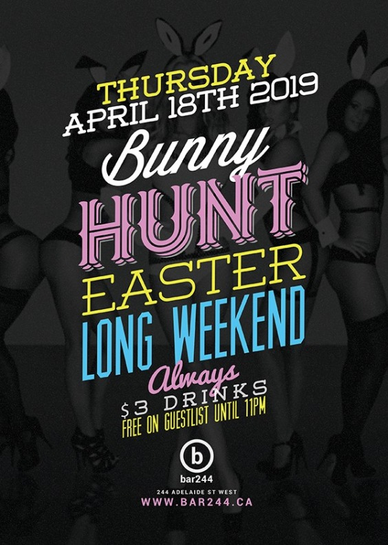 Bunny Hunt | Long Weekend Special