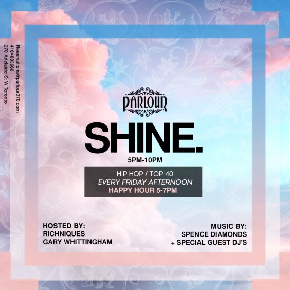 SHINE. Friday Afterwork Patio