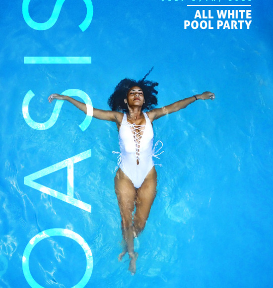 Oasis: All White Pool Party (Day Event)