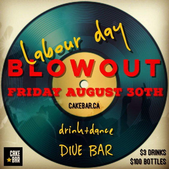 Labour Day Blowout