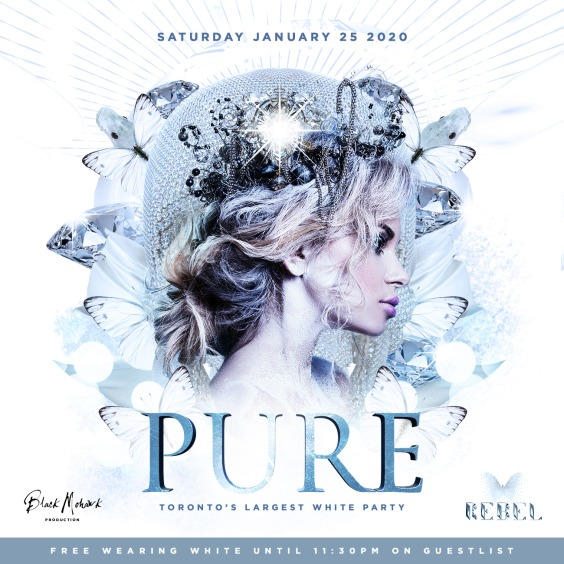 Pure - Toronto Largest White Party