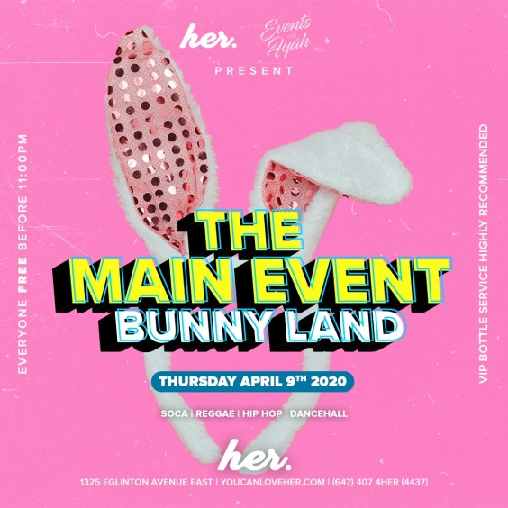 The Main Event | Bunny Land | Easter Long Weekend