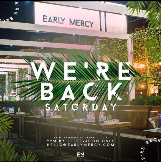 Early Mercy Patio