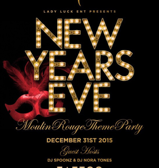 New Years Eve: Moulin Rouge Theme