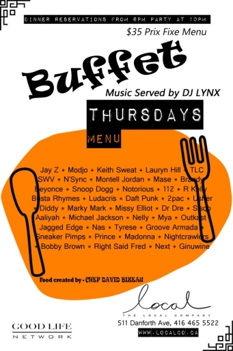 BUFFET THURSDAYS