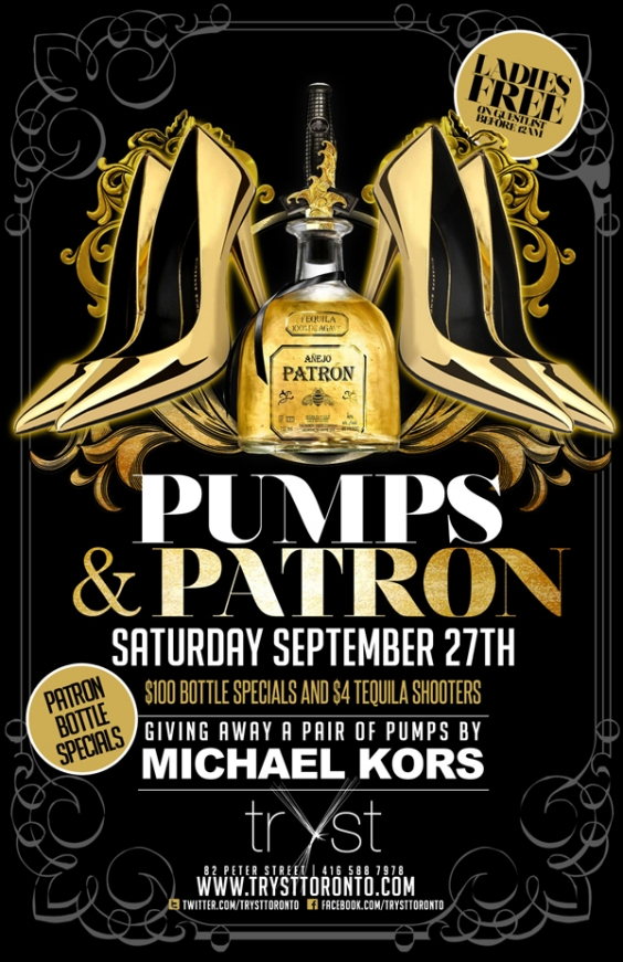 PUMPS AND PATRON