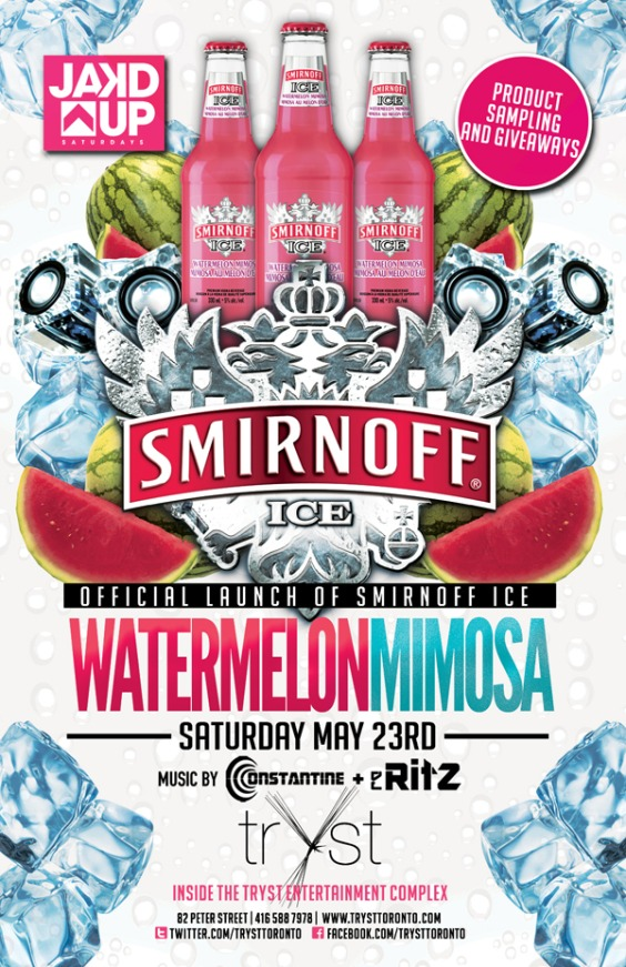 HOSTED BY SMIRNOFF ICE