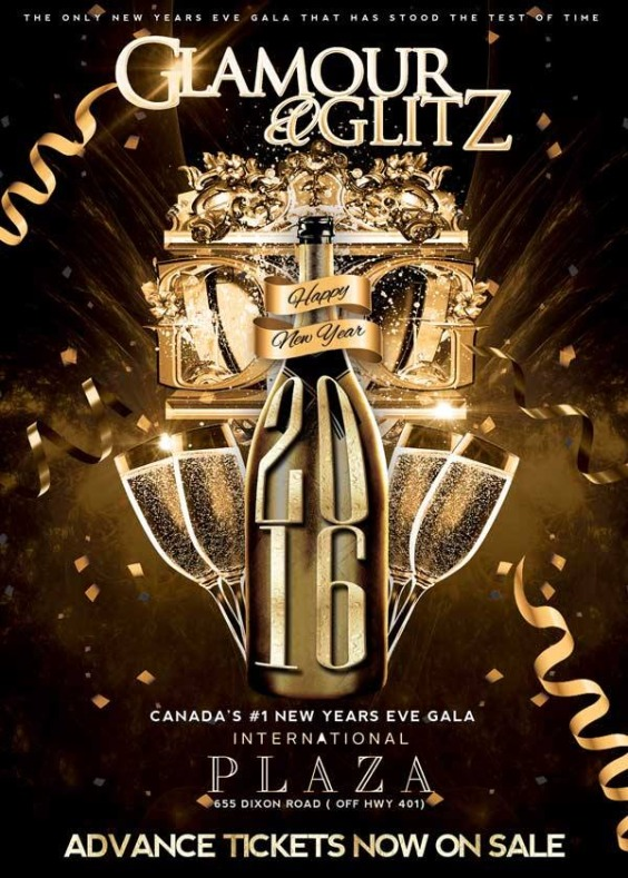 Glamour and Glitz New Years 2016