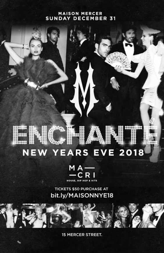 Enchante New Years Eve 2018