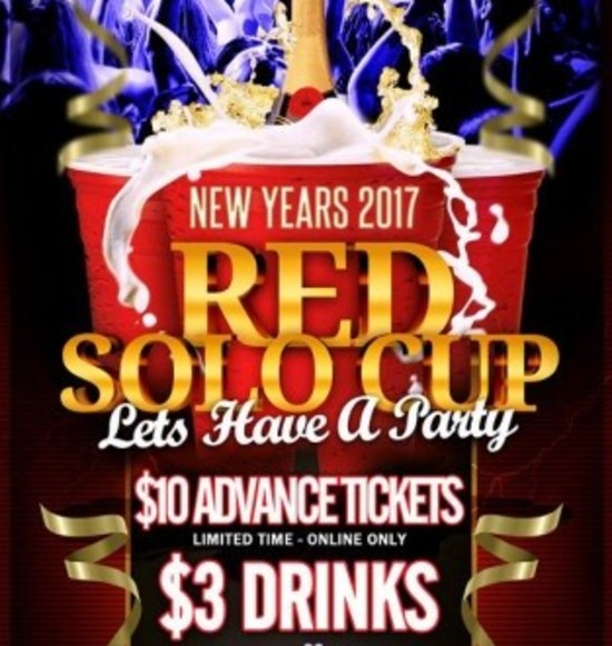 Nashville North Red Solo Cup New Years 2017