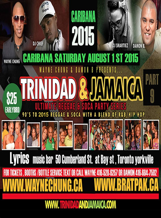 Trinidad & Jamaica Party Series