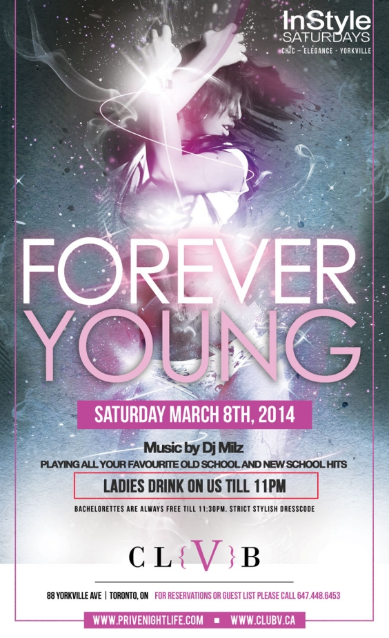Ladies drink free till 11pm | Forever Younge Party - Best of Old Skool vs New Skool