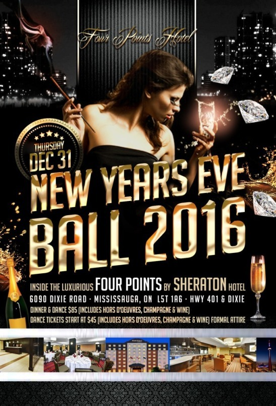 New Years Eve Ball 2016