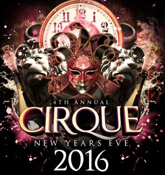 Cirque New Years Eve