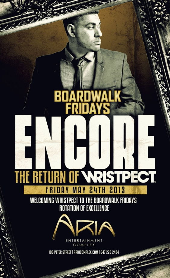 Boardwalk Fridays inside Aria | Encore feat. DJ Wristpect