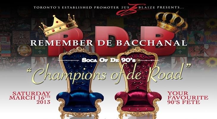 REMEMBER DE BACCHANAL - Soca Of De 90's