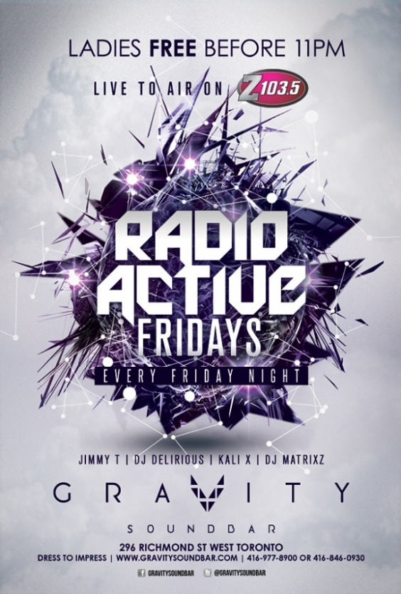 RADIO ACTIVE FRIDAYS
