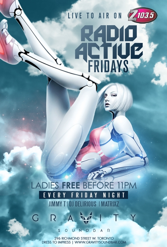 RADIO ACTIVE FRIDAYS - LIVE TO AIR ON Z103.5