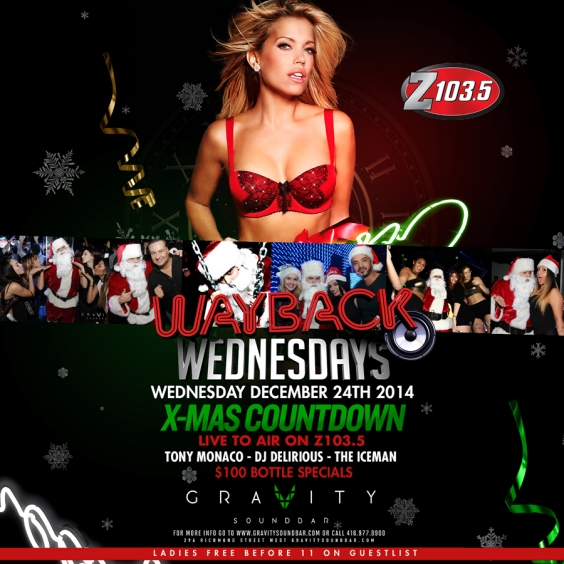 WAYBACK WEDNESDAYS - X-MAS COUNTDOWN