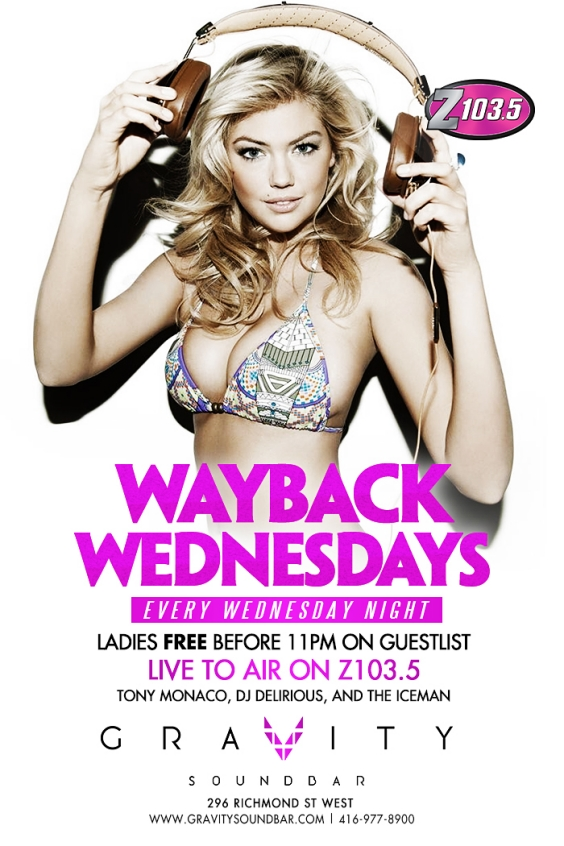 WAYBACK WEDNESDAYS LIVE TO AIR ON Z103.5