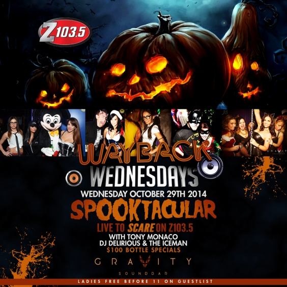 WAYBACK WEDNESDAYS - SPOOKTACULAR