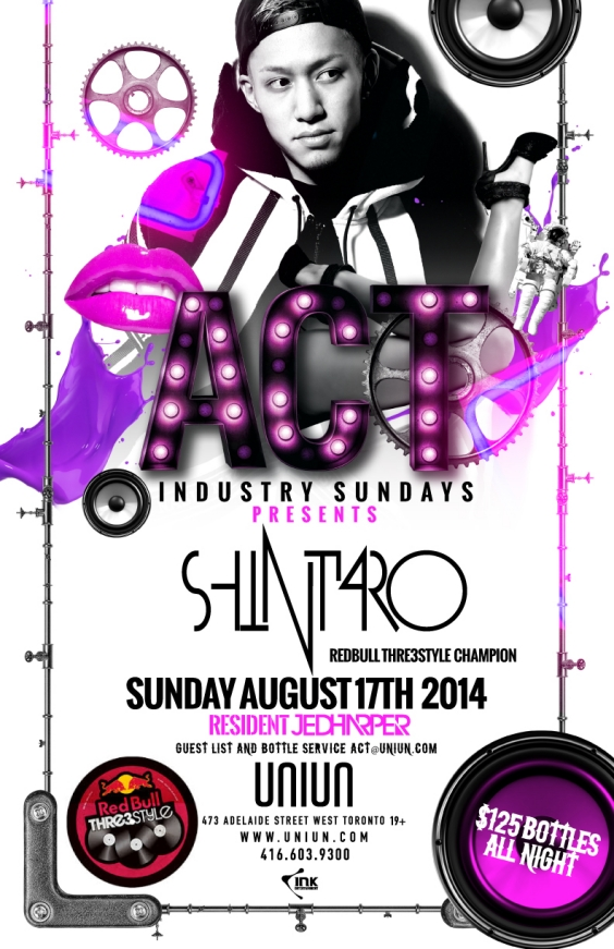 ACT Industry Sundays @ UNIUN Nightclub
