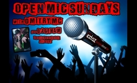 OPEN MIC SUNDAYS with DMITRY MC