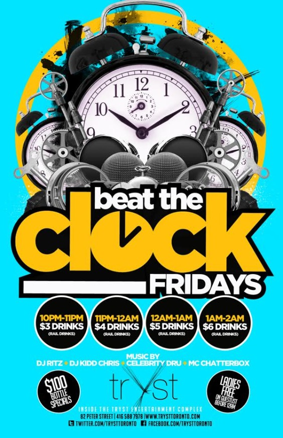 BEAT THE CLOCK FRIDAYS