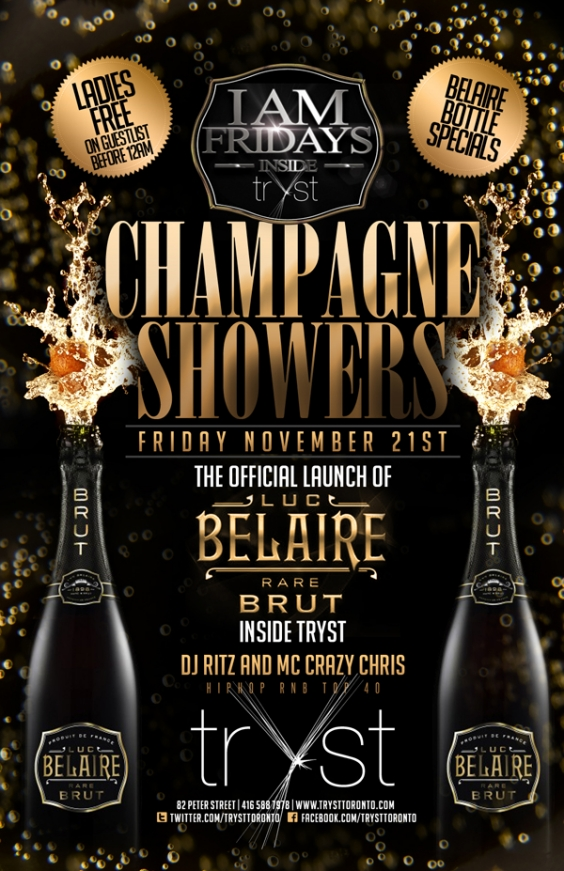 OFFICIAL LAUNCH OF BELAIRE BRUT