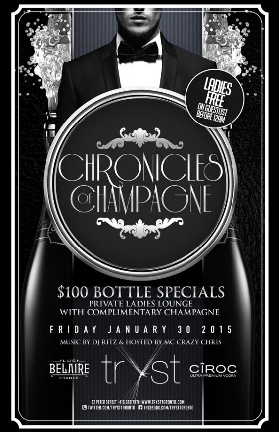 CHRONICLES OF CHAMPAGNE