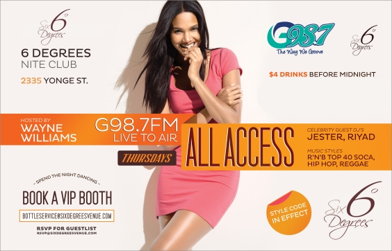 G 98.7 All Access Thursday