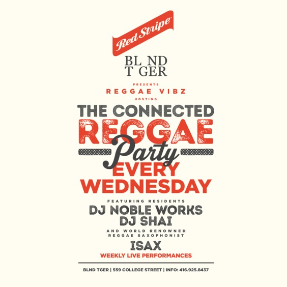 Connected Reggae Party Every Wednesday