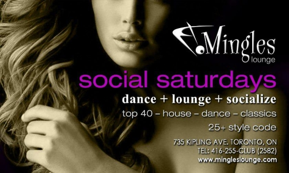 Mingles Saturday