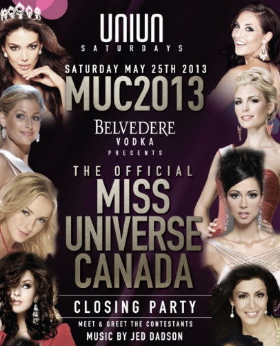 The Offical Miss Universe Canada