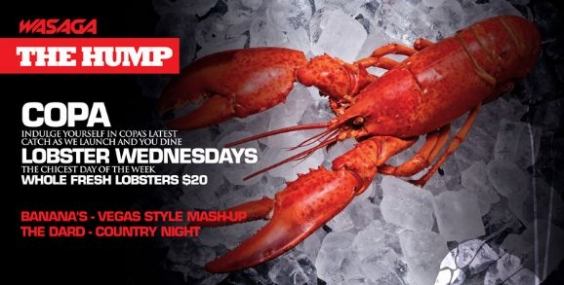 The Hump Lobster Wednesdays