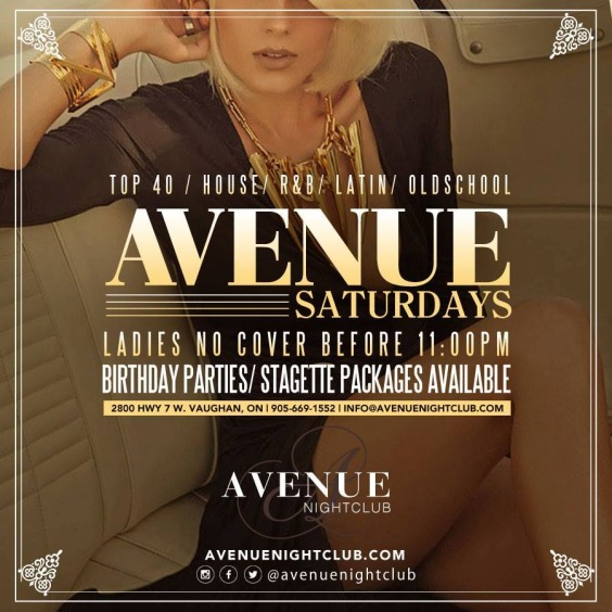 Avenue Saturdays