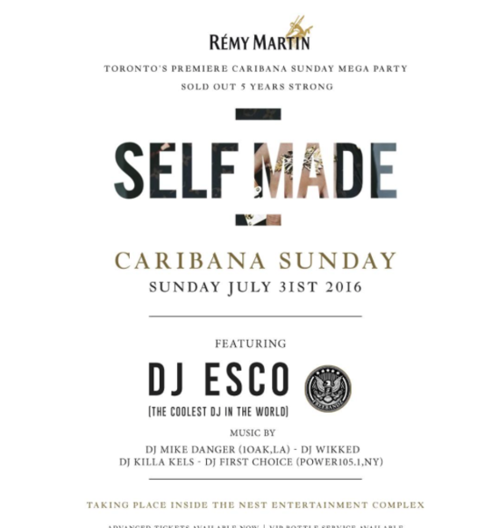 Remy Martin Presents Self Made