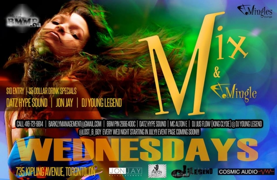 Mix N' Mingle Wednesdays by BMMP
