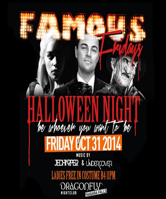 Famous Fridays Presents Halloween Night