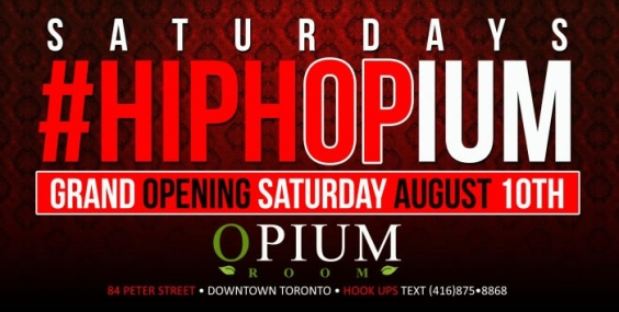 HIPHOP SATURDAY at Opium