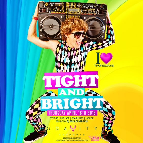 I LOVE THURSDAYS - TIGHT AND BRIGHT