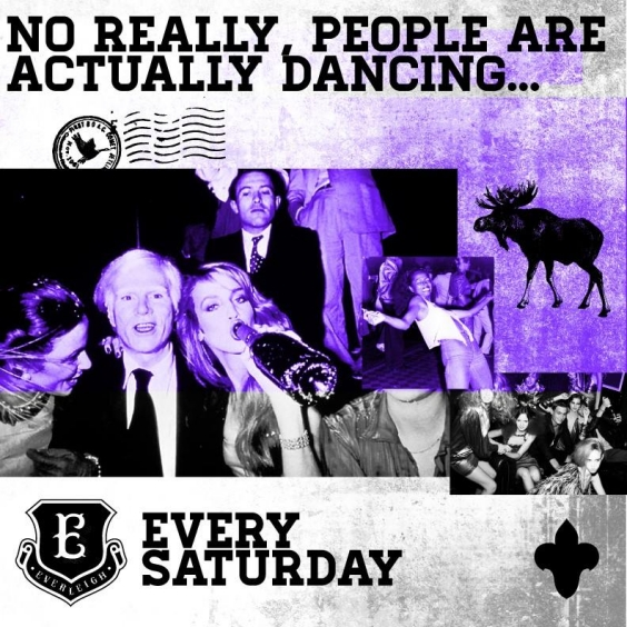 EVERLEIGH EACH & EVERY SATURDAY