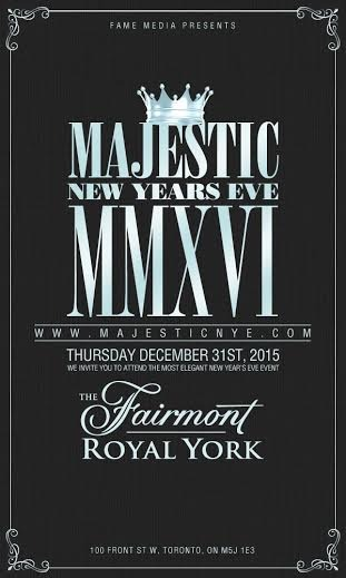 Majestic New Years Eve 2016