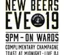 Join us for New Beers Eve, the ultimate New Year's Eve 2019 countdown inside Vegandale Brewery!