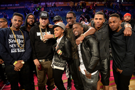 NBA-All-Star-Weekend-2014-Celebrities